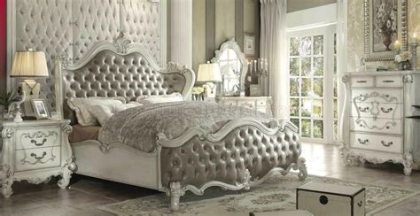 versailles bedroom versailles bedroom gray by acme