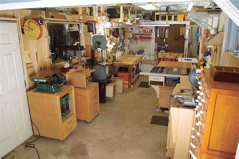 Garage Wood Workshop Plans