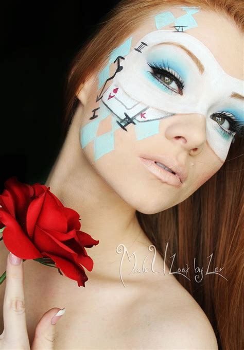 face ups on pinterest 36 pins alice in wonderland face paint alice cosplay