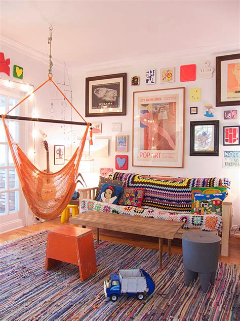 Design Sponge Living Room by Two Artists Make A Gallery Of Their New York Home Design