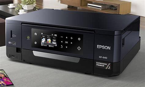 Printer Epson Xp 640 epson expression premium xp 640 small in one photo printer