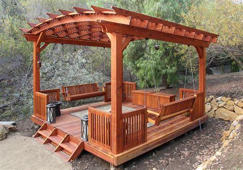 redwood pergola kits custom pergola kits redwood pergola kits all sizes shapes