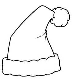 santa hat coloring page printable santa hat coloring pages coloring me