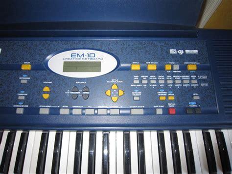 Keyboard Roland Em Roland Em 10 Image 597550 Audiofanzine