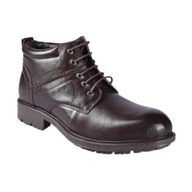 Sepatu Safety Jim Joker jual jim joker 2ba casual flem sepatu boot pria coffee