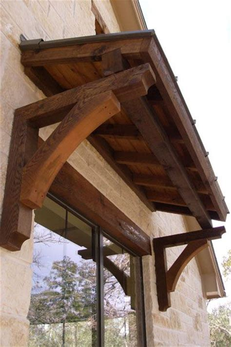 Wooden Awning by Windows With A 3 Roof Overhang Search