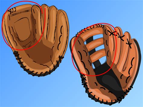 layout gloves vs friction gloves how to choose a softball glove 5 steps with pictures