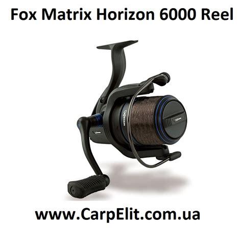 Reel Sure Cath 6000 Fox Matrix Horizon 6000 Reel