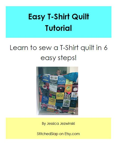 How To Make A Tshirt Quilt Step By Step by Easy T Shirt Quilt Tutorial