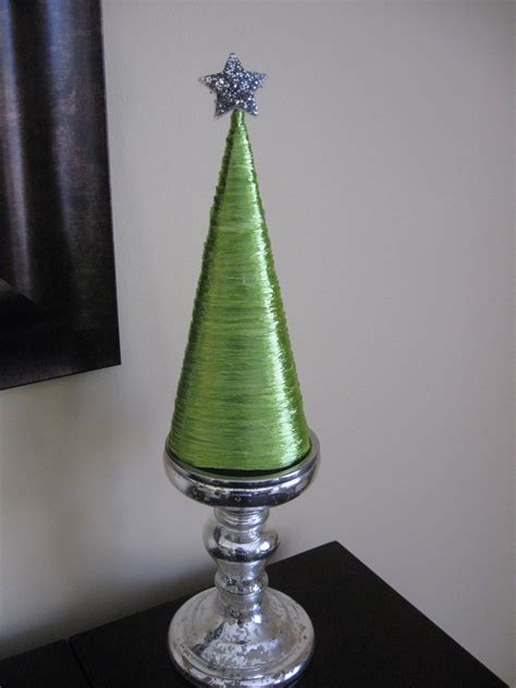 craft klatch 174 raffia covered cone christmas tree craft