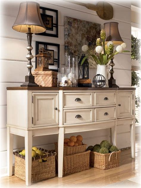 french country buffet  interior design