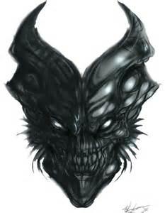demon skull by mkounelakis on deviantart skullz legion