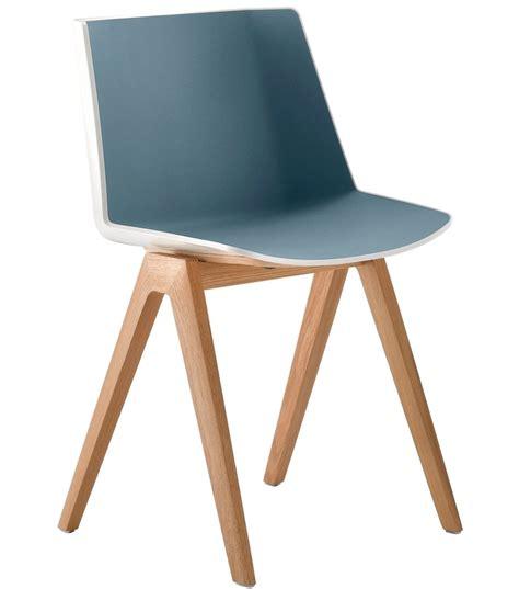 sedie mdf a 207 ku mdf italia sedia con gambe in legno milia shop