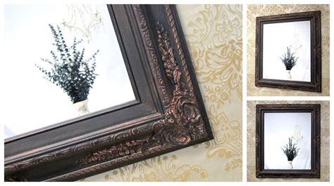 bronze framed bathroom mirror beautiful oil rubbed bronze mirrors bathroom doherty house