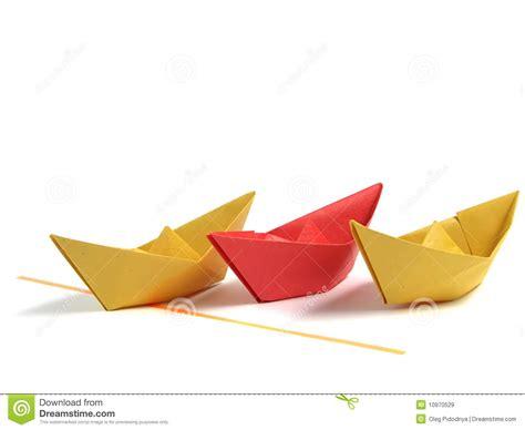 Origami White - origami boat white royalty free stock images image
