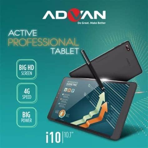 Tablet Advan Layar 10 Inci advan i10 dengan layar 10 1 inci harga dan spesifikasi