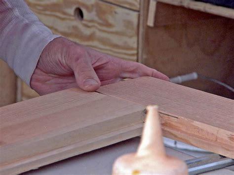 how to build a wood with doors build a wooden screen door hgtv