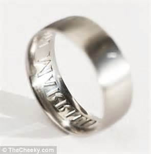 best wedding ring brands the wedding ring that brands your philandering spouse political wrinkles