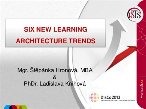 Trends In Mba Education by Disco 2013 Hronova And Knihova Six New Learning