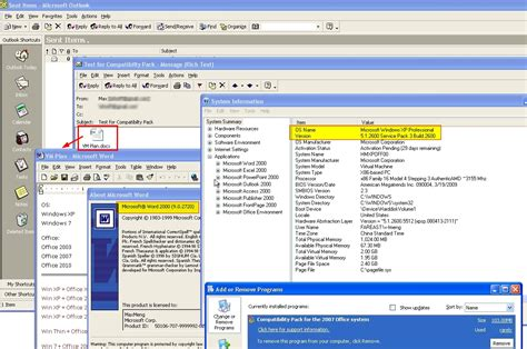 compatibility pack microsoft office 2003