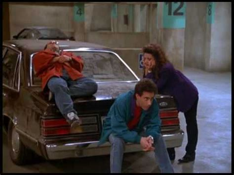 seinfeld garage seinfeld the parking garage theatrical trailer spoof