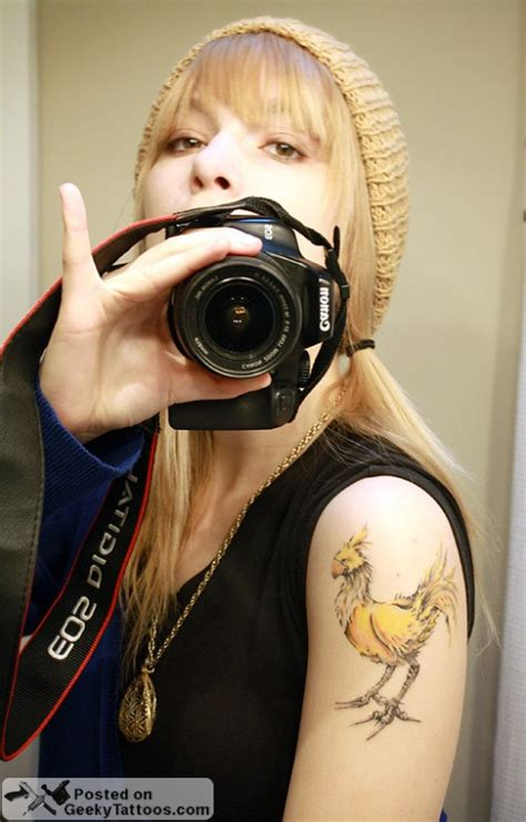 chocobo tattoo chocobo geeky tattoos