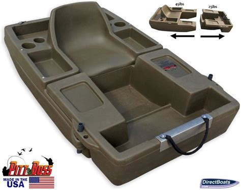 mini pontoon duck boat 15 best images about directboats mini bass boats on