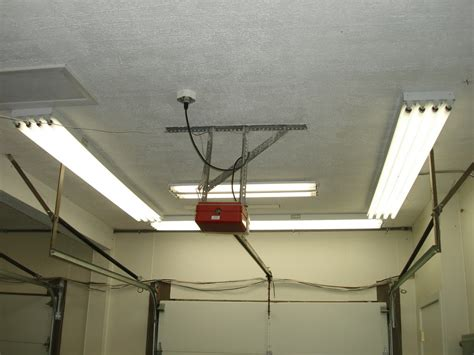 Garage Ceiling Light Fixtures Finally Finished New Garage Lighting Home Interior Design Ideashome Interior Design Ideas
