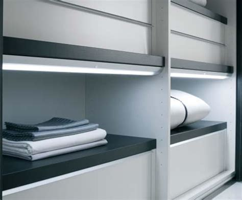 wardrobe sensor light sycamore lighting esi interior