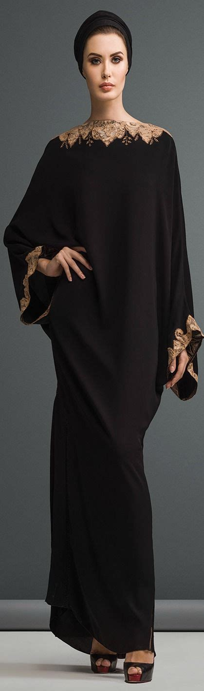 Gamis Abaya Arab Abaya Mery Abaya Arab Abaya Hitam mauzan abaya dubai work kashmiri lace with embroidery design fabric black crepe m 225 s