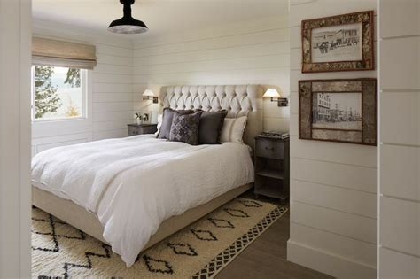 Bedroom Wall White White Wood Wall Bedroom Walls Shiplap Paneled Walls Wood