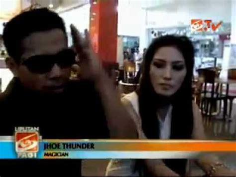 Tv Besar guru besar magic joe thunder beraksi di tv jember