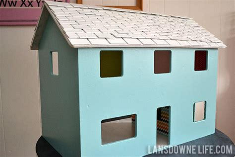 doll house paint modern diy dollhouse with homemade furniture part 1 of 6 lansdowne life