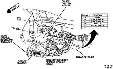 transmission control 1993 chevrolet corvette free book repair manuals c4 cruise control module location