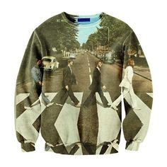 Sweater The Batles the beatles on road the beatles and