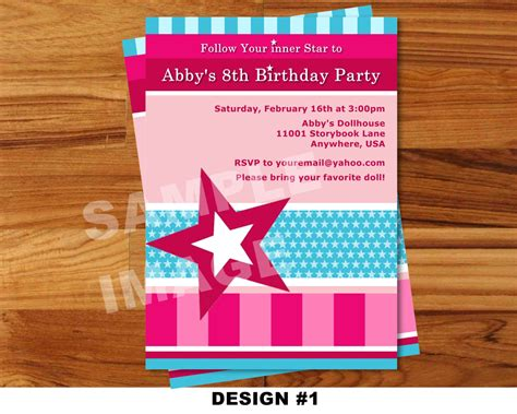 Where Can I Buy American Girl Gift Cards - american girl invitation doll invitation american girl