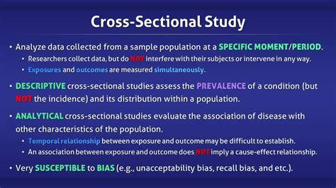 what is the meaning of cross sectional study cross sectional study youtube