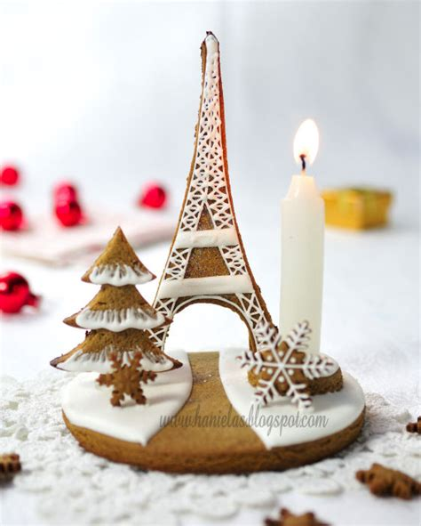 haniela s eiffel tower gingerbread centerpiece