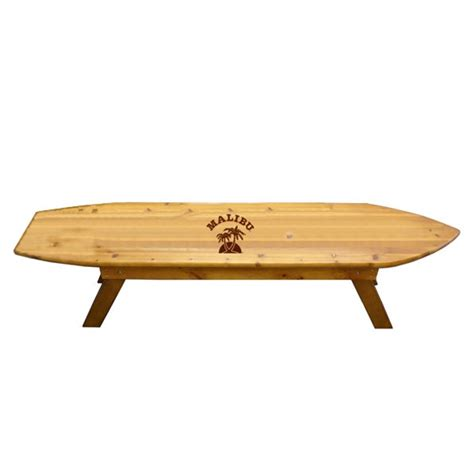 surf board shape bench bnoticed put a logo on it the