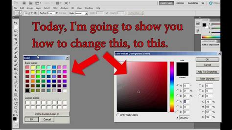photoshop color picker photoshop change the color picker