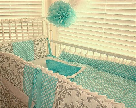 tiffany blue and grey bedroom crib bedding baby bedding grey and turquiose tiffany blue