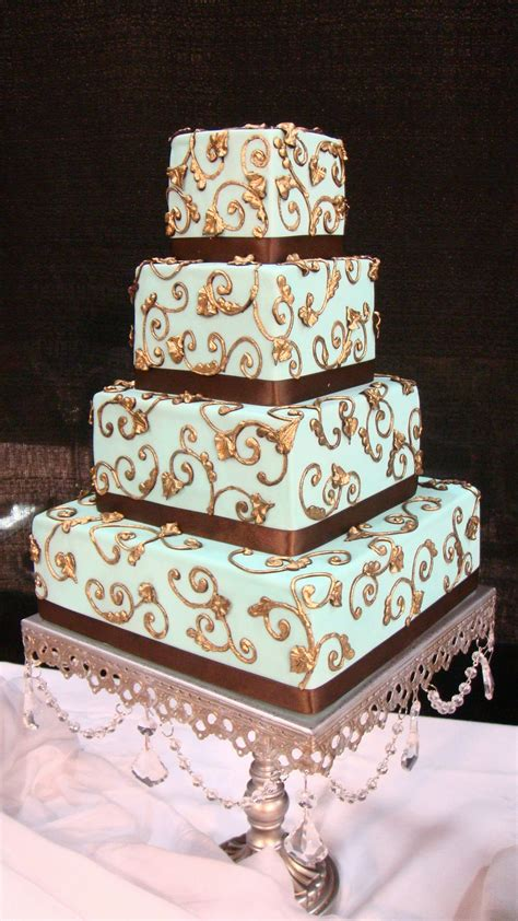 Wedding Cake Bakers by Wedding Cake Bakers Calumet Bakery Damask Details With