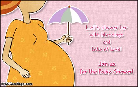 join the baby shower free save the date ecards greeting