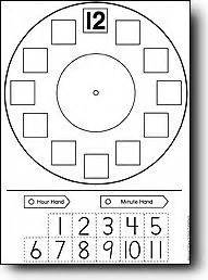 make your own clock template telling time might make telling time just a more