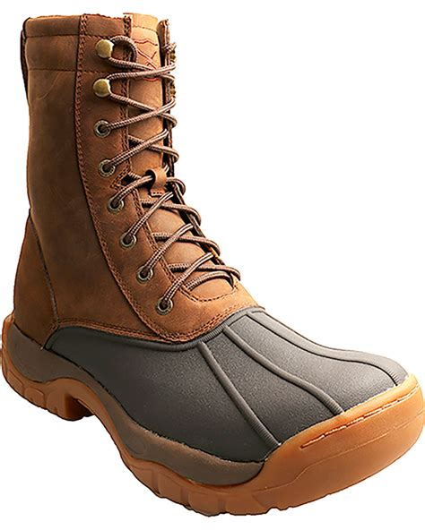 lace up rubber boots mens twisted x s lace up guide rubber boots boot barn