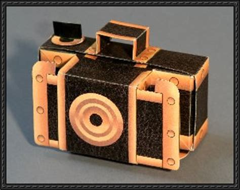 pinhole model papercraftsquare new paper model really works