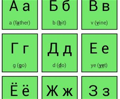 printable russian alphabet flash cards 50 best apps for russian alphabet android