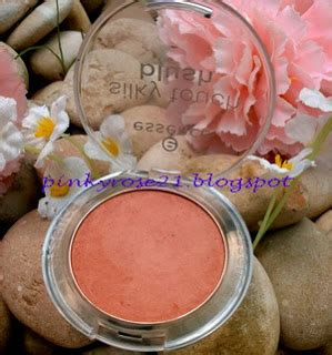 Harga Secret Blush potted pinkyrose review swatch essence silky touch