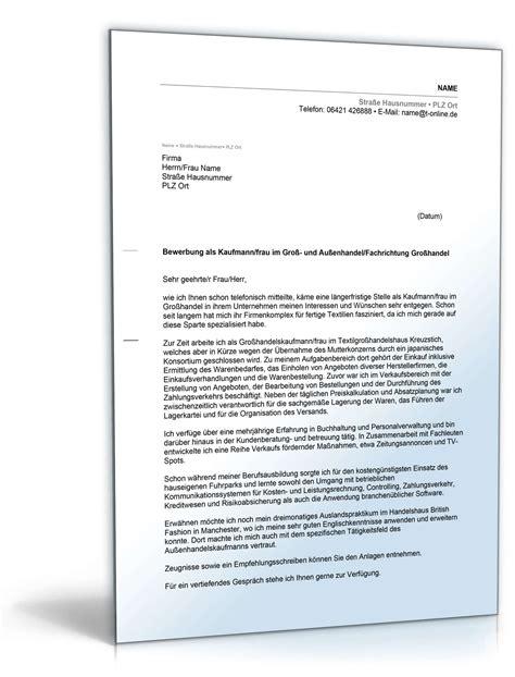 Bewerbung Jahrespraktikum Bereich Gesundheit Anschreiben Bewerbung Gro 223 Und Au 223 Enhandel Muster Zum