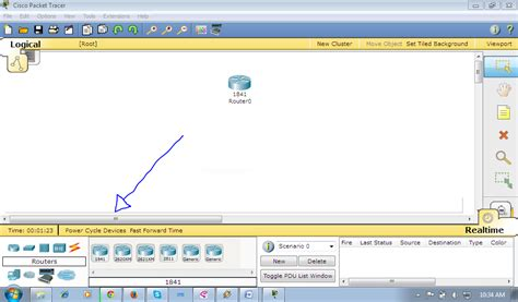 information technology membuat contoh desain jaringan dengan 1 router